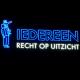 Tekst en afbeelding in neon - Summa College Eindhoven