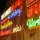 Letters in neon - 't Taphuys Arnhem