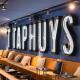 Logo in neon - 't Taphuys Arnhem