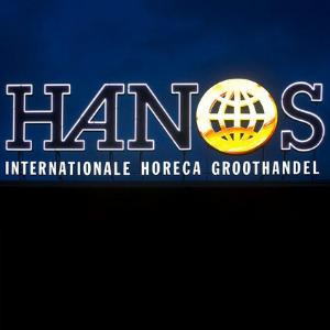 Logo in neon - Hanos Eindhoven