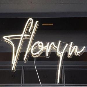 logo in neon - Grand Café Floryn Uden
